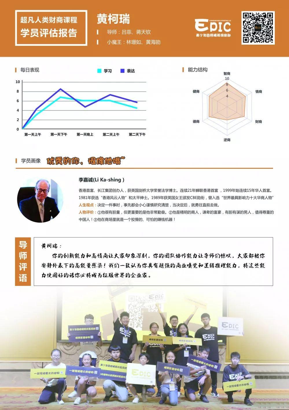 13岁超凡演讲者黄柯瑞:超强商业嗅觉和逻辑推理能力!插图(5)
