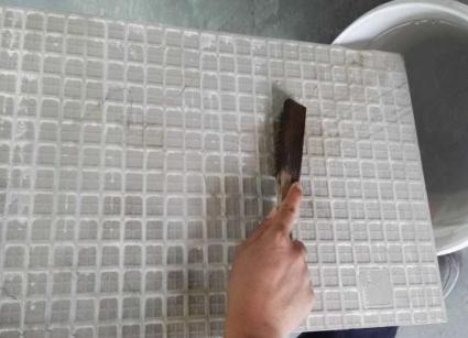 厨房墙面铺砖工艺流程·!别再只用小白砖了!