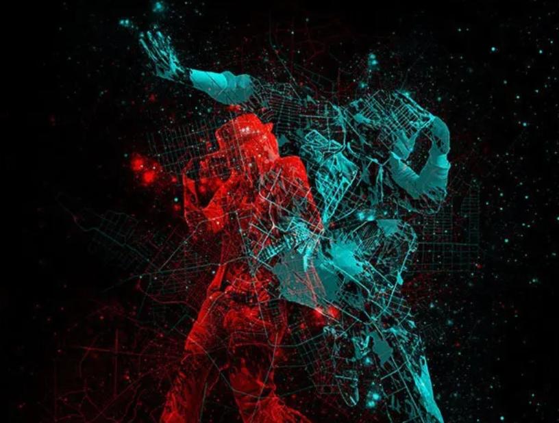 人体映射特效PS动作(GIF动画) 附视频教程