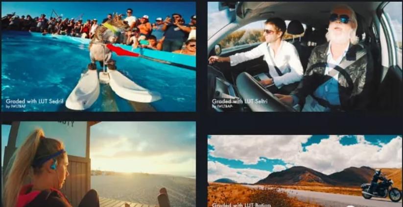 GoPro LUTS视频调色预设