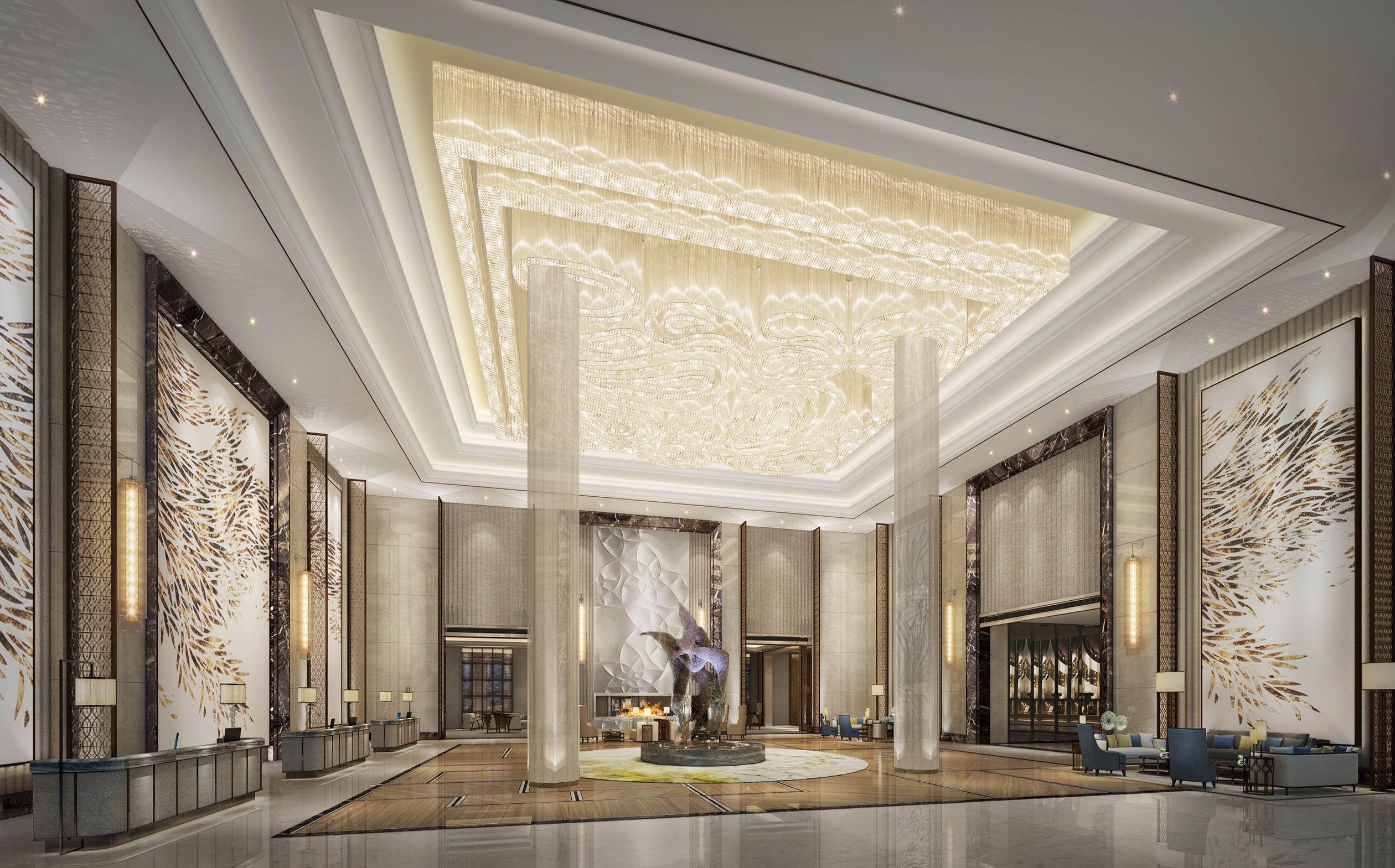 安徽喜来登酒店丨效果图+全套CAD施工图+硬装物料+软装物料_6672997_大堂.jpg